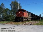 CN 8963 on the 403 West